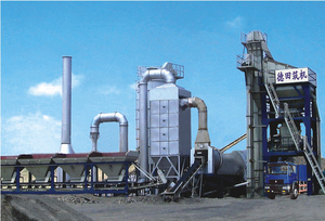 LB1500 Asphalt concrete mixing equipment