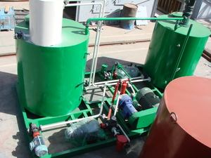 Emulsified asphalt production equipment